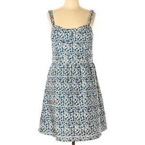 NWT Ann Taylor LOFT Floral Print Fit Flare Dress